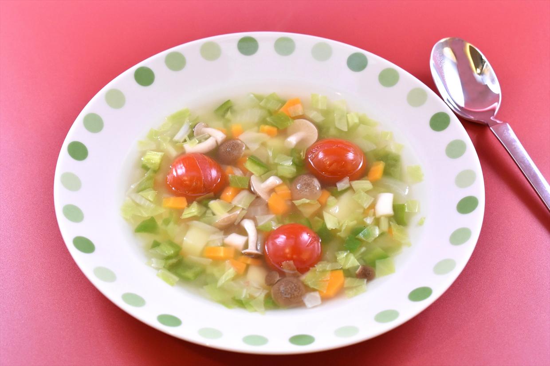 彩り野菜のスープ