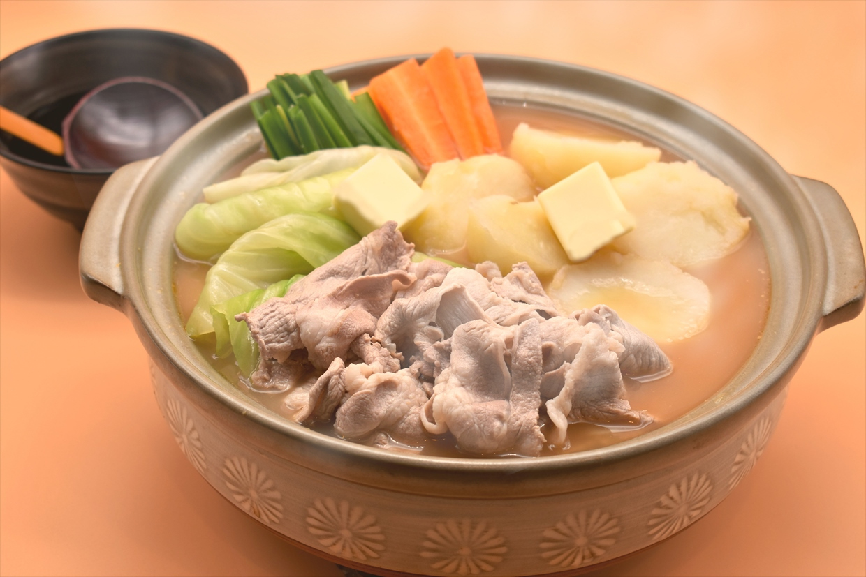 ジャガバタ味噌鍋